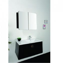 Модерен  комплект ПВЦ шкаф за баня Интеркерамик