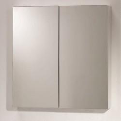 Горен огледален шкаф с две половини