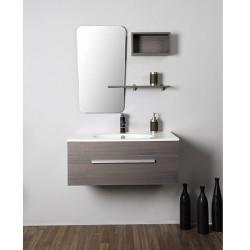 Стилен и практичен винтидж шкаф за баня