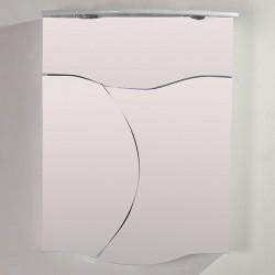Модерен огледален PVC шкаф за баня