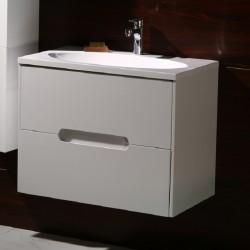 Бял комплект PVC шкаф за баня ЦВЕТИ