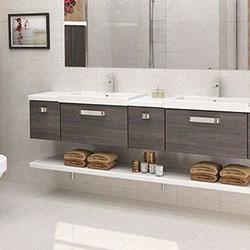 Мебели за баня, осигуряващи повече пространство и чистота