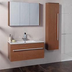 Мебели за баня за екстра пространство около мивката