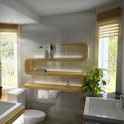 Рафтове – единични или комбинирани за повече пространство в банята